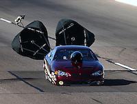 Feb 27, 2016; Chandler, AZ, USA; NHRA top sportsman driver Dave Slatten during qualifying for the Carquest Nationals at Wild Horse Pass Motorsports Park. Mandatory Credit: Mark J. Rebilas-