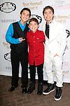 LOS ANGELES - APR 27: Robert Ochoa, Raymond Ochoa, Ryan Ochoa at Ryan Newman's Glitz and Glam Sweet 16 birthday party at the Emerson Theater on April 27, 2014 in Los Angeles, California