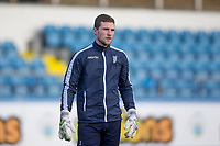 1st February 2020; Cappielow Park, Greenock, Inverclyde, Scotland; Scottish Championship Football, Greenock Morton versus Dundee Football Club; Jack Hamilton of Dundee during the warm up before the match
