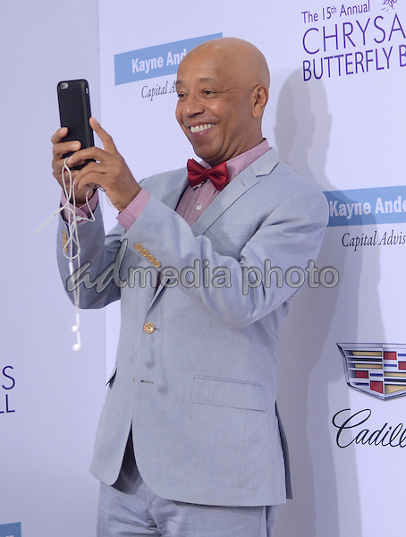 11 June 2016 - Los Angeles. Russell Simmons. Arrivals for the 15th Annual Chrysalis Butterfly Ball held at a Private Mandeville Canyon Residence. Photo Credit: Birdie Thompson/AdMedia