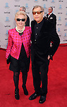 HOLLYWOOD, CA - APRIL 12: Michael York and Patricia McCallum attend the World Premiere of 40th Anniversary Restoration of 'Cabaret' at Grauman's Chinese Theatre on April 12, 2012 in Hollywood, California.