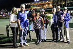 AUGUST 31, 2019 : Trillions Hanover, driven by George Brennan, wins the $122,224  Lady Maud, for 3 year old filly pacers, at Yonkers Raceway, on August 31, 2019 in Yonkers, NY.  Sue Kawczynski_ESW_CSM