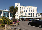 Hermitage Hotel building, Bournemouth, Dorset, England, UK