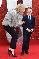"Cate Blanchett and son Ignatius<br /> arriving for the ""Ocean's 8"" European premiere at the Cineworld Leicester Square, London<br /> <br /> ©Ash Knotek  D3408  13/06/2018"