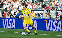 Guillermo Barros Schelotto on the ball during MLS Cup 2008. Columbus Crew defeated the New York Red Bulls, 3-1, Sunday, November 23, 2008. Photo by John Todd/isiphotos.com