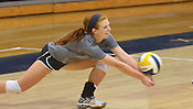 Shiloh Christian Volleyball practices 8/9/16