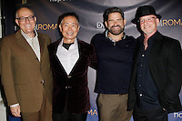 LOS ANGELES - NOV 9: Brad Takei, George Takei, Matt Zarley, Benjamin Pollack at the special screening of Matt Zarley's 'hopefulROMANTIC' at the American Film Institute on November 9, 2014 in Los Angeles, California