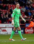 Simon Moore of Sheffield United during the English Football League One match at Bramall Lane, Sheffield. Picture date: December 31st, 2016. Pic Jamie Tyerman/Sportimage