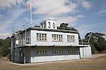 Control tower, Martlesham aviation museum, near Ipswich, Suffolk, England
