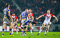 Picture by Alex Whitehead/SWpix.com - 28/03/2014 - Rugby League - First Utility Super League - St Helens v Leeds Rhinos - Langtree Park , St Helens, England - Leeds' Rob Burrow.