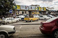 Makedonien. Skopje og Ohrid. Gadeliv i Skopje. Foto: Jens Panduro