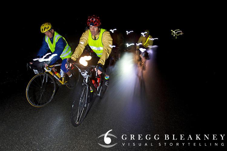 Cyclists Participating Paris Brest Paris Endurance Event - France