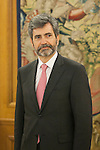 Supreme Tribunal and Justice General Conceil President Carlos Lesmes Serrano during and audience with King Felipe VI of Spain at Zaruzela Palace in Madrid, Spain. June 23, 2013. (ALTERPHOTOS/Victor Blanco)