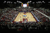 19 March 2007: The Maples Pavilion facility during Stanford's 68-61 second round loss to Florida State in the 2007 NCAA Division I Women's Basketball Championships at Maples Pavilion in Stanford, CA.