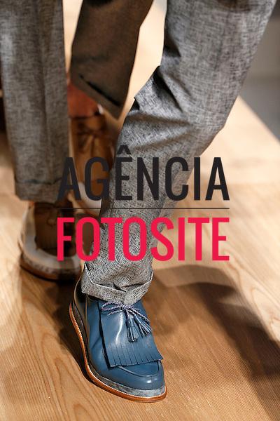 Milao, Italia &ndash; 06/2014 - Desfile de Salvatore Ferragamo durante a Semana de moda masculina de Milao - Verao 2015. <br /> Foto: FOTOSITE