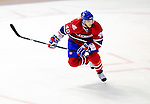 7 December 2009: Montreal Canadiens' center Maxim Lapierre in action against the Philadelphia Flyers at the Bell Centre in Montreal, Quebec, Canada. The Canadiens rallied, and defeated the Flyers 3-1. Mandatory Credit: Ed Wolfstein Photo