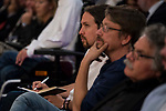Pablo Iglesias during conference at Madrid Town Hall, May 22, 2017. Spain.<br /> (ALTERPHOTOS/BorjaB.Hojas)