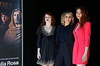 Camilla Diana, Greta Scarano and Antonia Fotaras<br /> Rome February 28th 2019. Photocall during the world premiere of the RAI tv series The Name Of The Rose (Il nome della Rosa).<br /> Foto Samantha Zucchi Insidefoto