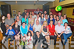 CELEBRATIONS: celebration were in full swing as val Carey of Banna and Co Cork celebrated his 60th Birthday in McElligotts Bar Ardfert with family and friends (val is seated centre).....