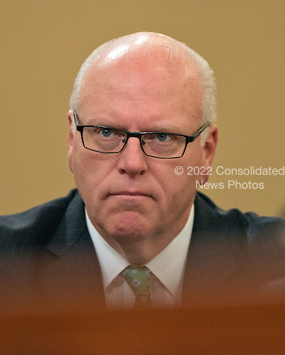 United States Representative Joe Crowley (Democrat of New York) looks on as former US Secretary of State Hillary Rodham Clinton, a candidate for the 2016 Democratic Party nomination for President of the United States, testfies before the US House Select Committee on Benghazi on Capitol Hill in Washington, DC on Thursday, October 22, 2015.<br /> Credit: Ron Sachs / CNP<br /> (RESTRICTION: NO New York or New Jersey Newspapers or newspapers within a 75 mile radius of New York City)