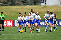 Commerce City, CO - Friday April 26, 2019: U.S. Soccer Girl's Development Academy Spring Showcase at Dick's Sporting Goods Park.