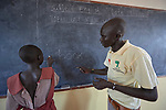 Eric Gum teaches at the Loreto Primary School outside Rumbek, South Sudan. The school is run by the Institute for the Blessed Virgin Mary--the Loreto Sisters--of Ireland. Gum is a graduate of the Solidarity Teacher Training College in Yambio, South Sudan.
