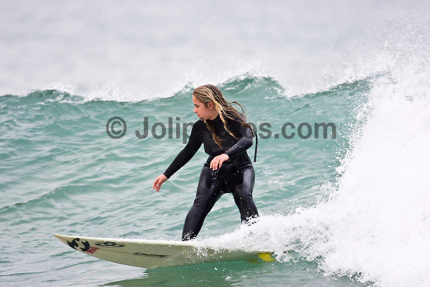 WPS Surfing at Jeffreys Bay, (Wednesday 8th July 2009), Eastern Cape, South Africa ,   Photo: joliphotos.com