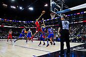 17th January 2019, The O2 Arena, London, England; NBA London Game, Washington Wizards versus New York Knicks; Trevor Ariza of the Washington Wizards shoots a lay up