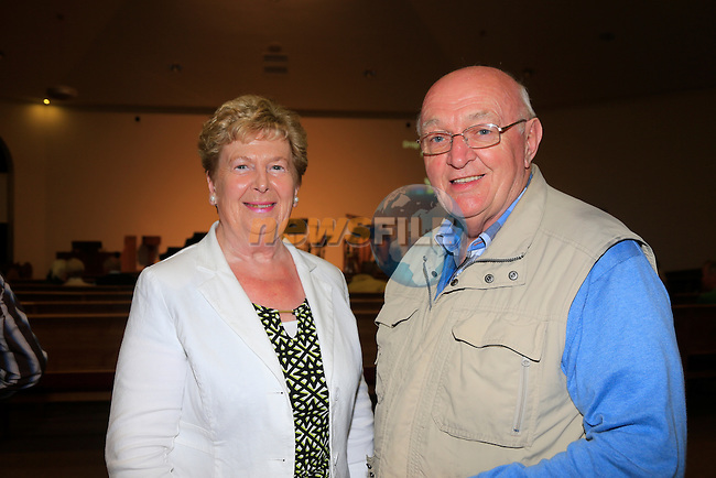 Siobhan and Tom Tallon at Drogheda Presbyterian Church<br /> Picture: www.newsfile.ie