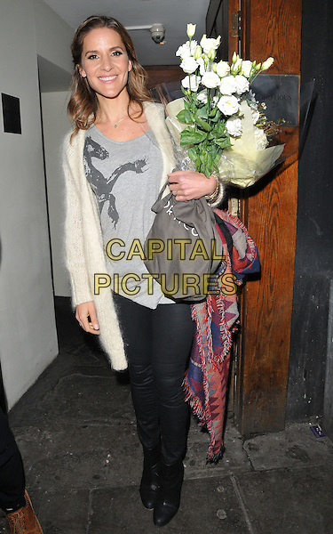Amanda Byram attends the TBSeen.com new celebrity-curated lifestyle shopping platform press launch, Soho House, Old Compton Street, Soho, London, UK, on Monday 04 January 2016.<br /> CAP/CAN<br /> &copy;CAN/Capital Pictures