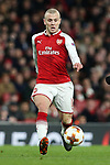 Jack Wilshere of Arsenal during the UEFA Europa League Quarter-Final 1st leg match at the Emirates Stadium, London. Picture date 5th April 2018. Picture credit should read: Charlie Forgham-Bailey/Sportimage