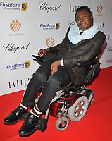 Yinka Shonibare at the Lux Afrique gala dinner, Claridge's Hotel, Brook Street, London, England, UK, on Sunday 01 October 2017.<br /> CAP/CAN<br /> &copy;CAN/Capital Pictures