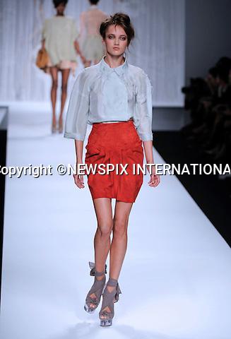 "FENDI.Women's Wear Spring/Summer 2010 Collection, Milan Fashion Week, Milano_29/09/2009.Mandatory Credit Photo: ©NEWSPIX INTERNATIONAL..**ALL FEES PAYABLE TO: ""NEWSPIX INTERNATIONAL""**..IMMEDIATE CONFIRMATION OF USAGE REQUIRED:.Newspix International, 31 Chinnery Hill, Bishop's Stortford, ENGLAND CM23 3PS.Tel:+441279 324672  ; Fax: +441279656877.Mobile:  07775681153.e-mail: info@newspixinternational.co.uk"