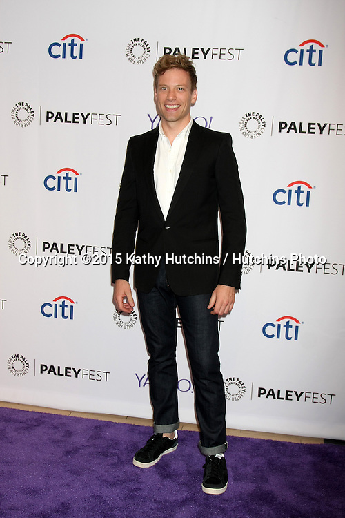 LOS ANGELES - SEP 11:  Barrett Foa at the PaleyFest 2015 Fall TV Preview - NCIS: Los Angeles at the Paley Center For Media on September 11, 2015 in Beverly Hills, CA