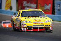 Aug. 8, 2009; Watkins Glen, NY, USA; NASCAR Sprint Cup Series driver Clint Bowyer during practice for the Heluva Good at the Glen. Mandatory Credit: Mark J. Rebilas-