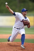 April 12, 2009:  Pitcher Brant Rustich of the St. Lucie Mets, Florida State League Class-A affiliate of the New York Mets, during a game at Tradition Field in St. Lucie, FL.  Photo by:  Mike Janes/Four Seam Images