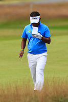 Thongchai Jaidee (THA) on the 10th during Round 2 of the Aberdeen Standard Investments Scottish Open 2019 at The Renaissance Club, North Berwick, Scotland on Friday 12th July 2019.<br /> Picture:  Thos Caffrey / Golffile<br /> <br /> All photos usage must carry mandatory copyright credit (© Golffile | Thos Caffrey)