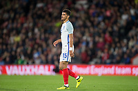 Dominic Solanke (Liverpool) of England U21 during the UEFA EURO U-21 First qualifying round International match between England 21 and Latvia U21 at the Goldsands Stadium, Bournemouth, England on 5 September 2017. Photo by Andy Rowland.