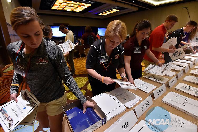 11 APR 2015: The 2015 Leadership Forum is held at the Hyatt Regency Orlando in Orlando, FL. Justin Tafoya/NCAA Photos