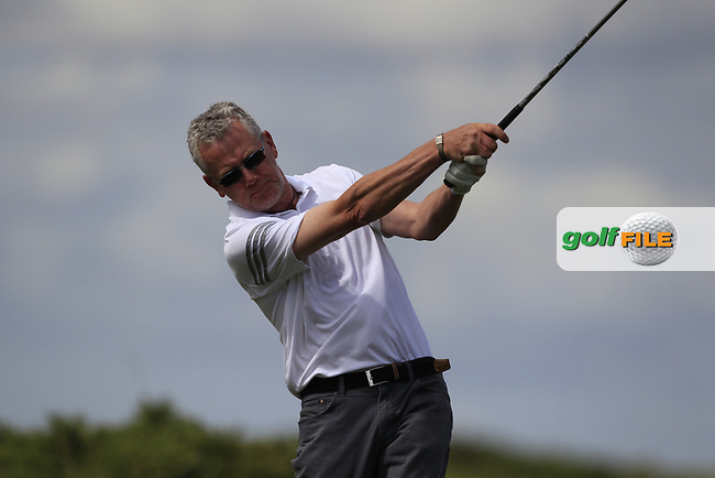 John Whelan (Athenry) during the final of the AIG Jimmy Bruen Shield Connacht Final, in Galway Bay Golf Club, Galway, Ireland. 12/08/2017<br /> Picture: Fran Caffrey / Golffile