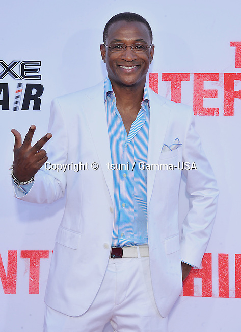 Tommy Davidson arriving at The Internship Premiere at the Westwood Village Theatre in Los Angeles.