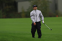 Kurt Kitayama (USA) on the 1st fairway during Round 4 of the Amundi Open de France 2019 at Le Golf National, Versailles, France 20/10/2019.<br /> Picture Thos Caffrey / Golffile.ie<br /> <br /> All photo usage must carry mandatory copyright credit (© Golffile | Thos Caffrey)