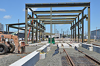 Work Progress June 4 2013 | New Haven Rail Yard New Independent Wheel True Facility