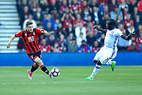 Bournemouth's Ryan Fraser in action during todays match against Chelsea.<br /> <br /> Bournemouth 1 - Chelsea 3<br /> <br /> Photographer David Horton/CameraSport<br /> <br /> The Premier League - Bournemouth v Chelsea - Saturday 8th April 2017 - Vitality Stadium - Bournemouth<br /> <br /> World Copyright &copy; 2017 CameraSport. All rights reserved. 43 Linden Ave. Countesthorpe. Leicester. England. LE8 5PG - Tel: +44 (0) 116 277 4147 - admin@camerasport.com - www.camerasport.com