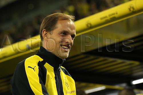 23.09.2016. Dortmund, Germany. German Bundesliga Football. Borussia Dortmund versus SC Freibrug.   Trainer Thomas Tuchel (BVB Borussia Dortmund)