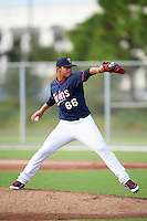 Minnesota Twins pitcher Brusdar Graterol (66) during an Instructional League game against the Boston Red Sox on September 24, 2016 at CenturyLink Sports Complex in Fort Myers, Florida.  (Mike Janes/Four Seam Images)