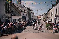 peloton in St-Lyphard<br /> <br /> Stage 4: La Baule &gt; Sarzeau (192km)<br /> <br /> 105th Tour de France 2018<br /> &copy;kramon