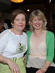 Rosemary Healy and Margo Kiernan pictured at the ceilí and set dancing at Brú na Boinne. Photo: Colin Bell/pressphotos.ie