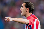 Diego Roberto Godin Leal of Atletico de Madrid reacts during their La Liga match between Atletico de Madrid vs Real Sociedad at the Vicente Calderon Stadium on 04 April 2017 in Madrid, Spain. Photo by Diego Gonzalez Souto / Power Sport Images