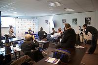 18-12-10, Tennis, Rotterdam, Reaal Tennis Masters 2010, Persconferentie met Michaella Krajicek